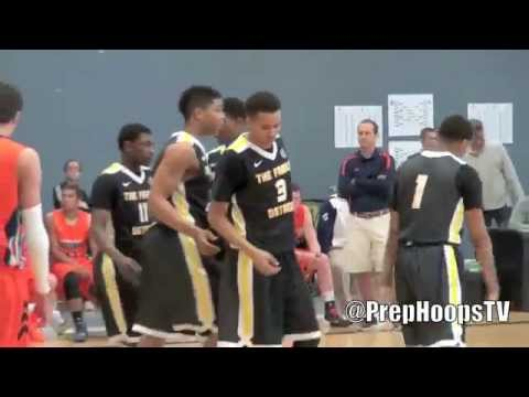 A.J. Turner 2015 New Hampton Prep highlights vs GR Storm