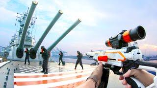 Nerf War: Battleship Battle