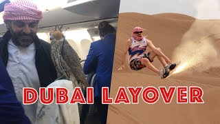 HOW TO CRUSH A DUBAI LAYOVER | WON'S WORLD