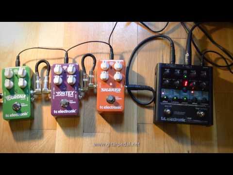 A War of Modlation: TC Electronic Nova Modulator vs. Corona & Shaker & Vortex