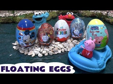 Surprise Eggs Thomas & Friends Sesame Street Disney Mickey Mouse Peppa Pig Kinder Looney Tunes Egg