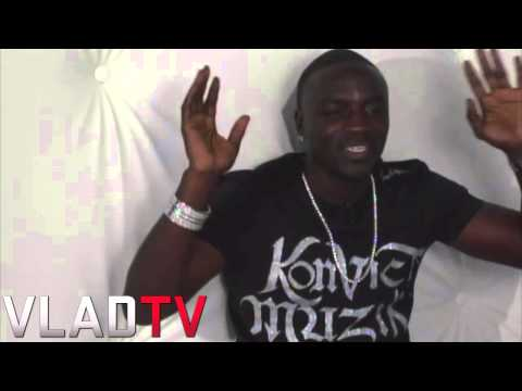Akon Reveals Top 5 Celebrities He'd Like To Date (2008) video