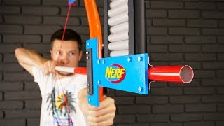 How to Make a NERF Bow at Home