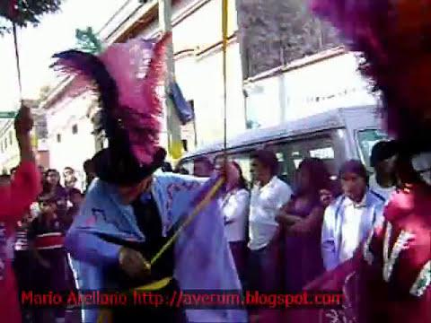reportaje Huehues, carnaval puebla 2009
