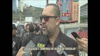Polícia fiscaliza ocupação irregular no Olhos d'Água