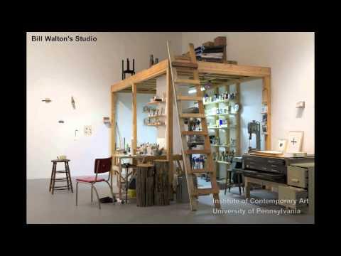 Bill Walton's Studio: ICA Philadelphia Senior Curator Ingrid Schaffner on Bill Walton's Studio