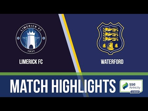 HIGHLIGHTS: Limerick FC 0-2 Waterford