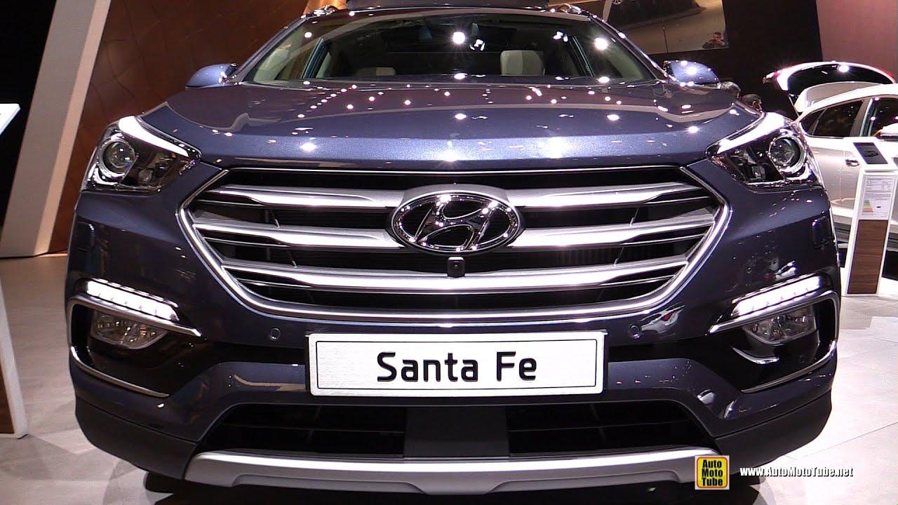 2016 Hyundai Santa Fe 2.2 CRDi AWD - Exterior and Interior ...
