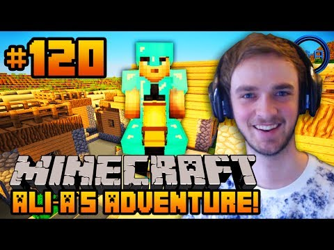 Minecraft - Ali-As Adventure #120 - THE DARK HORSE!