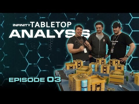 Infinity Tabletop Analysis Episode 03 (Gaming Table Setup Tips)