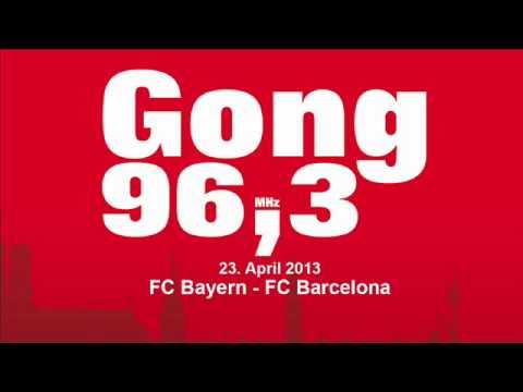 FC Bayern - FC Barcelona UEFA Champions League Halbfinale 23.4.2013