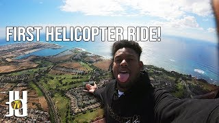 JuJu Takes Insane Helicopter Ride Over Hawaii!!