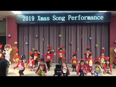 108學年度聖誕歌曲表演-一年二班