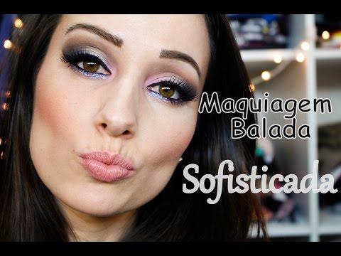 Tutorial de Maquiagem Sofisticada para Balada com o Glitter Vibre Alice Salazar