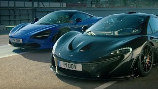 McLaren 720S vs McLaren P1 | Top Gear: Series 25 | BBC