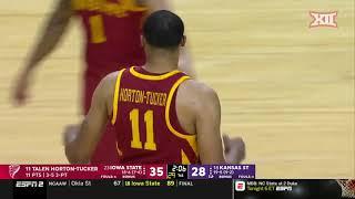 Iowa State vs Kansas State Men's Basketball Highlights