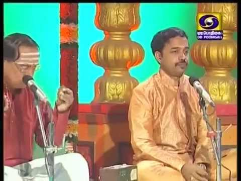 Dhanam Tharum Abhirami Andhathi  -  Arul Maari - Song (composed By Bhajan Ravi), Podhigai TV