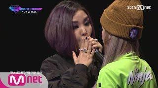 [Korean Reality Show UNPRETTY RAPSTAR2] Diss Bae Kitti B vs Heize l Kpop Rap Audition  EP.05