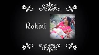 Birthday wishes to Rohini    B B Pathy