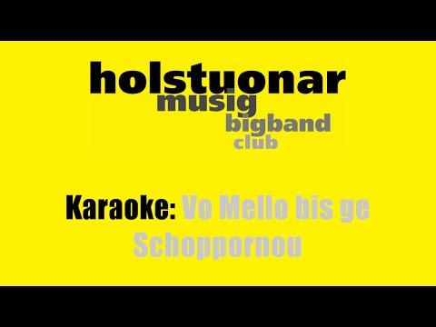 Karaoke: holstuonarmusigbigbandclub / Vo Mello bis ge Schoppornou