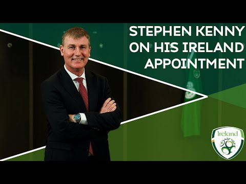 KENNY ERA BEGINS | Stephen Kenny on his Ireland appointment