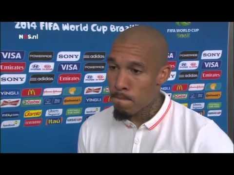 De Jong: groot compliment aan achterhoede | NOS WK Voetbal