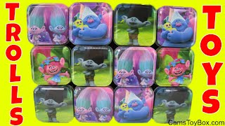 Dreamworks Trolls Surprise Toys Blind Bags Series 7 Chupa Chups Eggs Fashion Tags Opening
