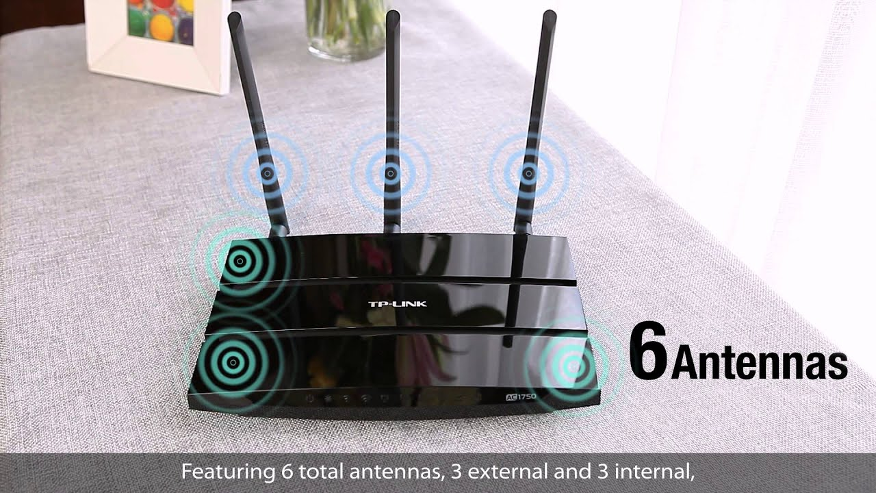 Roteador tp Link Dual Band Tp-link Ac1750 Wireless Dual