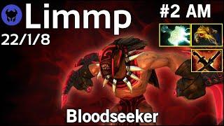 Limmp [coL] plays Bloodseeker!!! Dota 2 7.21