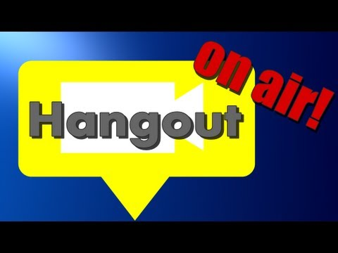 Alles über Hangout on air!