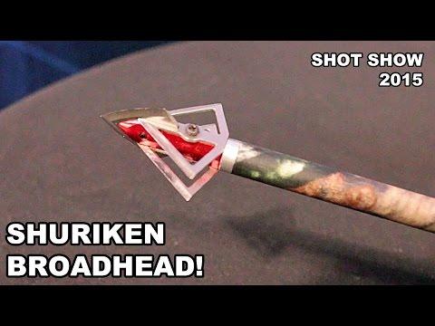 Shuriken Broadhead! Made by Carbon Express