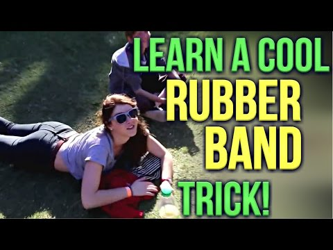 Learn Magic Tricks: How To Do The Cool Rubberband Trick!