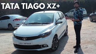 2019 TATA TIAGO XZ+ EXTERIOR AND INTERIOR DETAILED WALKAROUND...(TOTAL VALUE FOR MONEY)