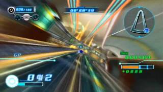 Sonic Riders: Zero Gravity - Playthrough [Part 14 - Missions - Heroes: Megalo Station][ENG]
