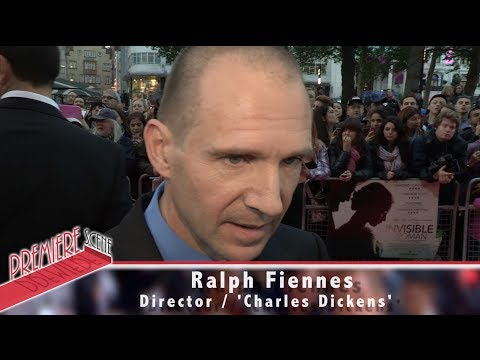 The Invisible Woman Interviews include Ralph Fiennes.