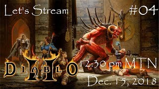 Let's Stream Diablo 2: Lord of Destruction, Part 3: Knee Stabbers In The Forest