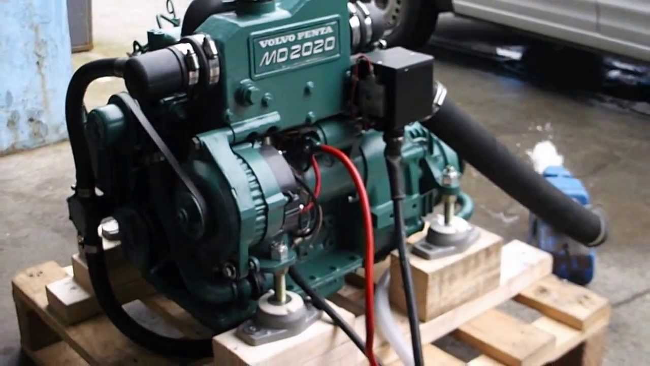 Volvo Penta 20hp Md2020 For Sale Demo Run Youtube