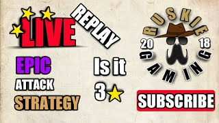CLASH OF CLANS LIVE ATTACK REPLY 2018 | EPIC ATTACK STRATEGY (MUST WATCH UNTIL THE END)