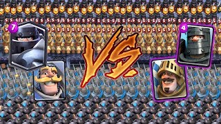 Mega Knight Team VS Prince Team | Clash Royale Team Challenge #4