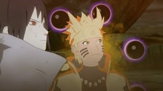 Naruto and Sasuke Vs Six Paths Madara Final Fight (English Sub) Naruto Shippuden:Ninja Sto