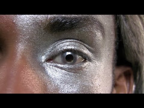 Silver Mirror Contact Lenses - YouTube