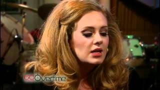 Adele Video - Adele sings acappella (Aired February 12, 2012)