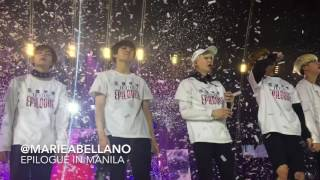 160730 BTS Epilogue in Manila: I Need U @MOA Arena