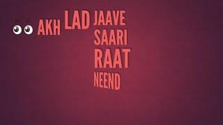 Akh Lad Jaave Loveratri Badshah Jubin Nautiyal Asees Kaur Akh Lad Jaave Sari Raat Neend Na Ave