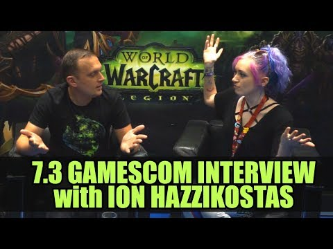 7.3 Interview with Ion Hazzikostas  | Gamescom 2017 | World of Warcraft Legion