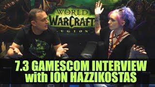 7.3 Interview with Ion Hazzikostas    Gamescom 2017   World of Warcraft Legion