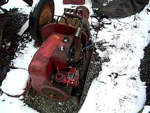 Snowy cold start 1954 wisconsin tf welder youtube - Webaccess leroymerlin fr ...