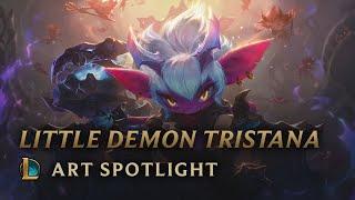 Little Demon Tristana: Art Spotlight   League of Legends
