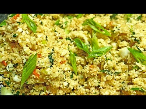 Cauliflower Fried Rice | Keto-Friendly, Gluten-Free, Vegan