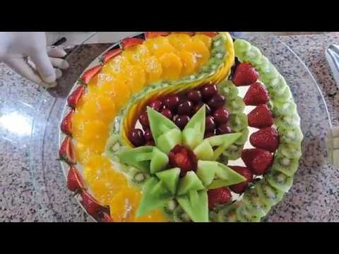 HOW TO MAKE DELICIOUS FRUIT SLICED - By J. Pereira Art Carving